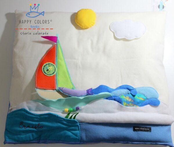 """""""Spumoso"""" – Cuscino gioco con le onde del Mare"""